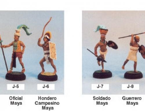 Serie 'J' Incas, Mayas y Aztecas